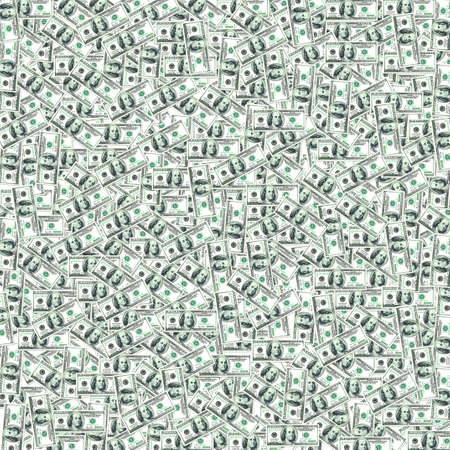 us currency: Graphic US dollar banknote texture in wallpaper pattern