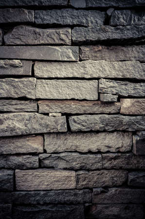 Old brick wall with grunge color style photo