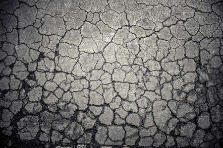 barren: Crack dry soil ground background in grunge color