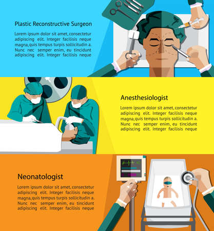 website layout: Type of specialist physicians doctor such as plastic reconstructive surgeon