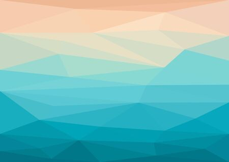 futuristic background: abstract geometric background