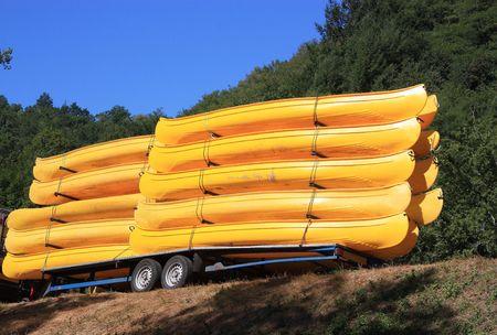 Colourful Kayaks photo