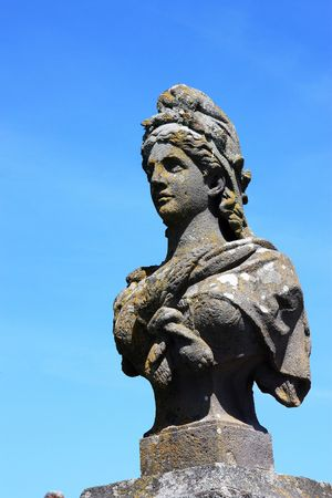 Viva la France - an early 19thC statue of Marianne, symbolic of the French Republic