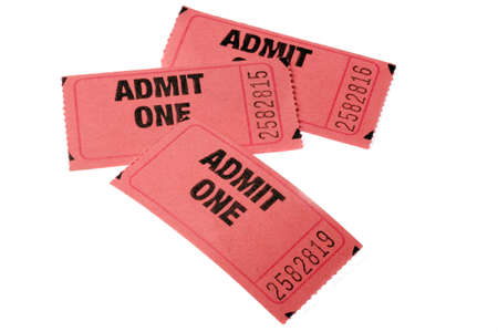 Three Admission tickets