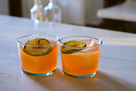 El Chipilo Cocktail - a perfect blend of Mexican and Italian with Tequila and Aperol 02