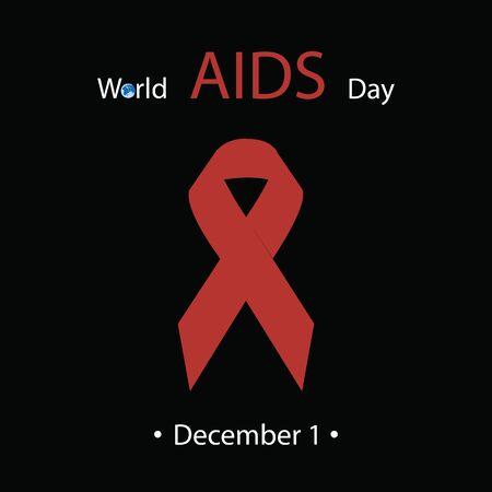relaciones sexuales: Día mundial del SIDA. Ilustración del vector.