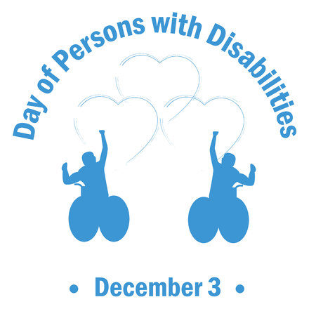 International Day of Persons with Disabilities - December 3 Illustration