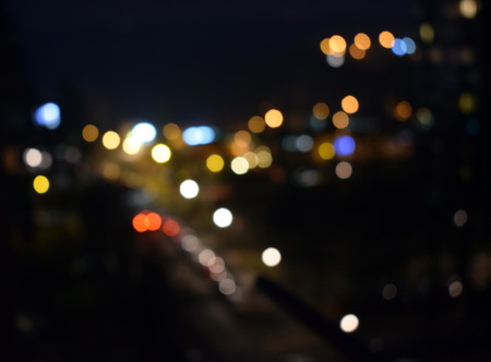 glitz: glitter vintage lights background. dark gold and black. defocused Stock Photo