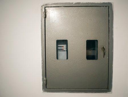 Elektriciteits meter. Metering of electricity.