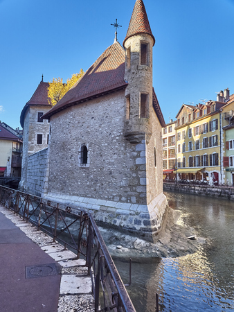 Annecy, France - December 07, 2018: The