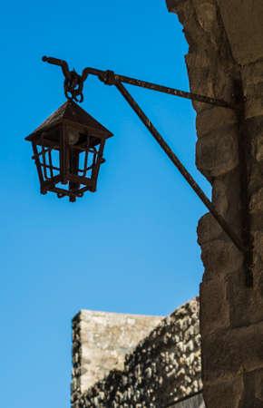 frederick street: medieval lantern Stock Photo
