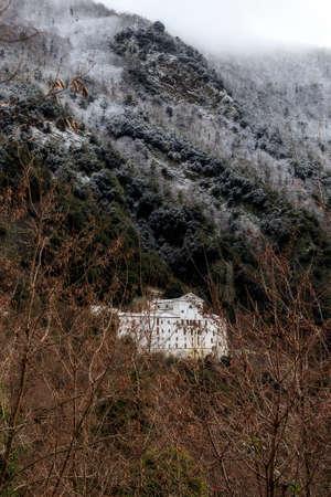 monastery: monastery Stock Photo