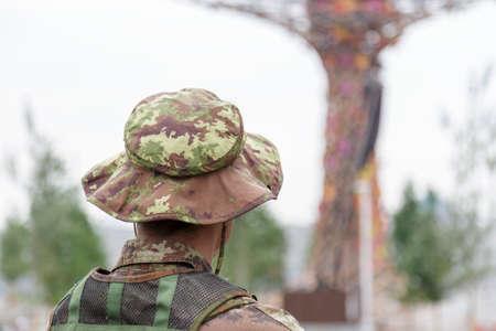 supervisi�n: supervisi�n soldado