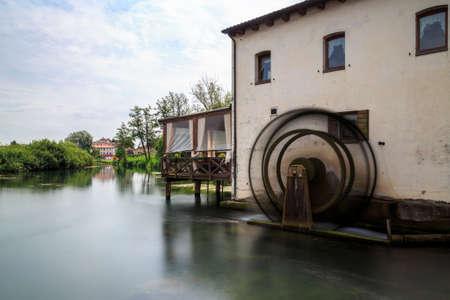 mill: water mill