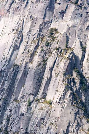 tenacious: free climbers approach dolomtes wall Stock Photo