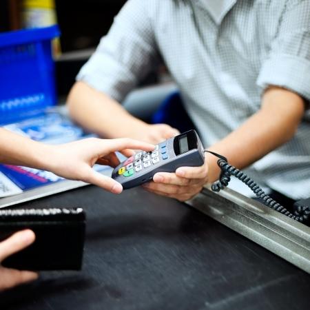 cash register: PIN number