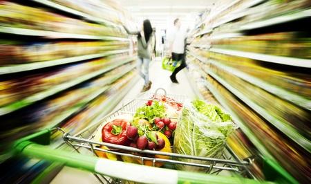 carro supermercado: Supermercado