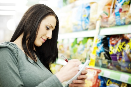 Shopping list Stock Photo - 18161139