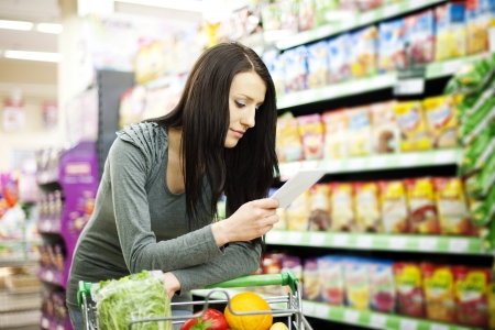 Shopping list Stock Photo - 18161923