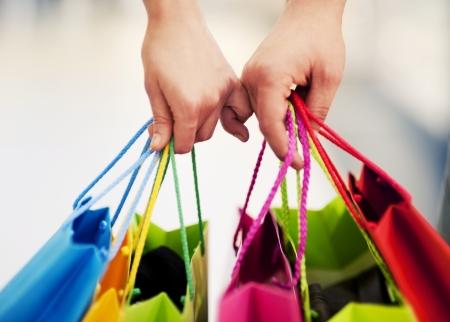 Zusammen einkaufen Standard-Bild