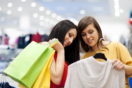 personal perspective: Best friends shopping