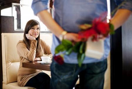 giving back: Valentine Stock Photo