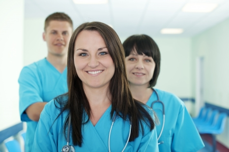 Successful medical team Stock Photo - 18182414