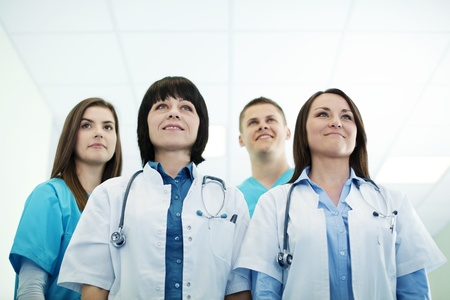 Successful medical team Stock Photo - 18163069