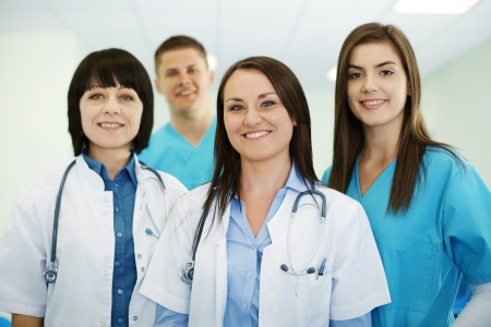 Successful medical team Stock Photo - 18182405
