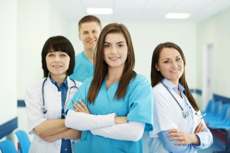 Successful medical team Stock Photo - 18182345