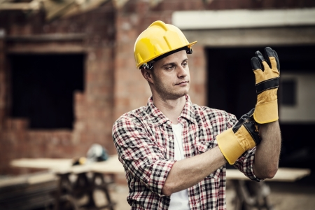 dělník: Stavební dělník