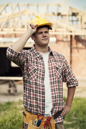 Construction worker Stock Photo - 18184902