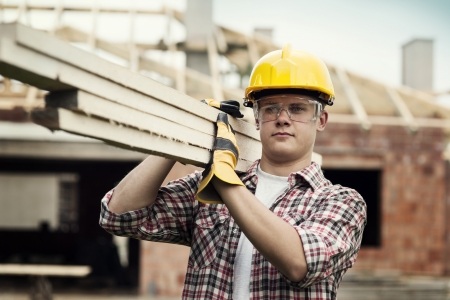 residential construction: Construction Worker