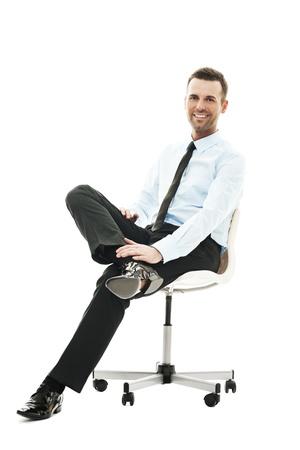 persona sentada: Tiempo de relajaci�n