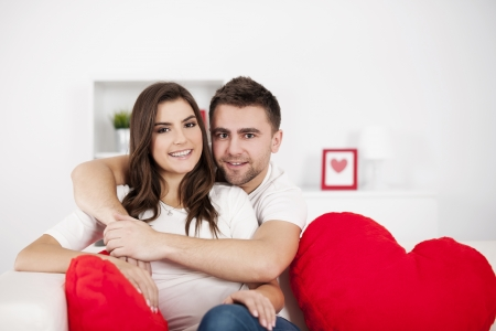 Portrait of loving couple Stock Photo - 18190795