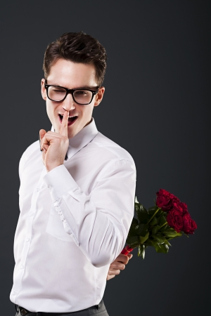 man s: Shhh, don