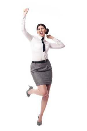 Successful businesswoman Stock Photo - 18987751