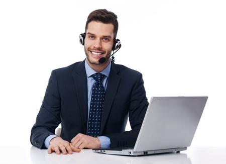 service à la clientèle d'affaires Banque d'images
