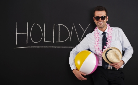 End of work! Time to holiday! Stock Photo - 20162444