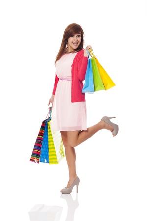 I love shopping so much!
