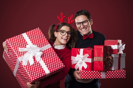 Time to opening christmas presents