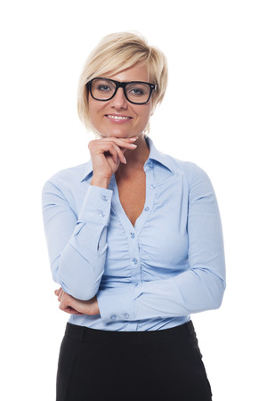 Portrait of confident businesswoman Stock Photo - 22855616