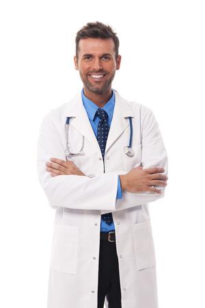 male doctor: Ritratto di candid medico di sesso maschile Archivio Fotografico