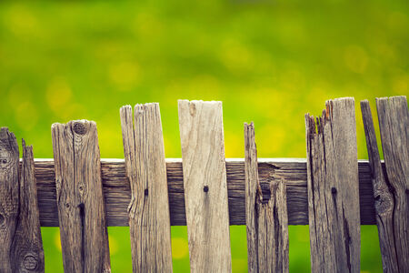 picket fence: Background of picket fence Stock Photo