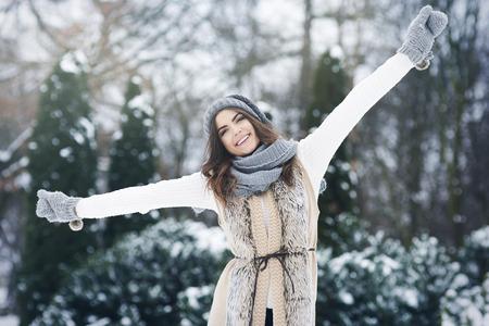 Winter is my favourite season of year   photo