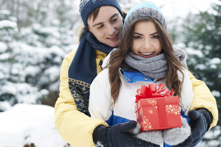 Christmas is time for happiness and love   photo