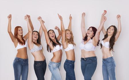 Dans ces jeans nous semble incroyable! Banque d'images - 31639773
