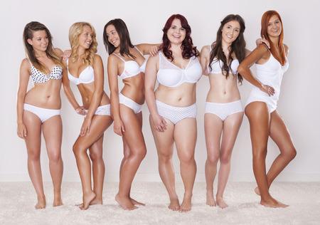 mujeres gordas: Las diferencias entre nosotros son normales