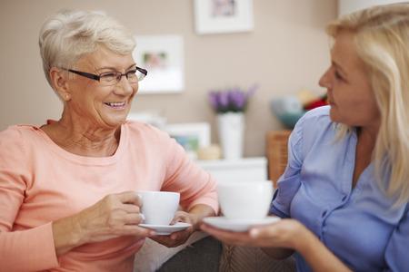 Koffie in mijn moeder