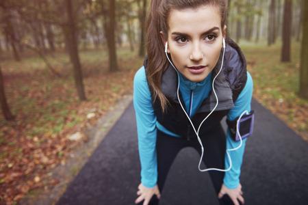 atleta corriendo: Hoy voy a dar todo de mí